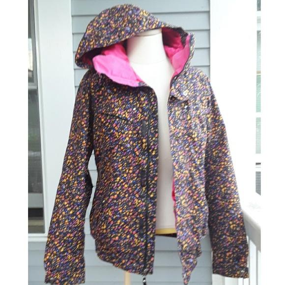 Burton Jackets Coats Dryride Snowboard Jacket Womens Large Poshmark